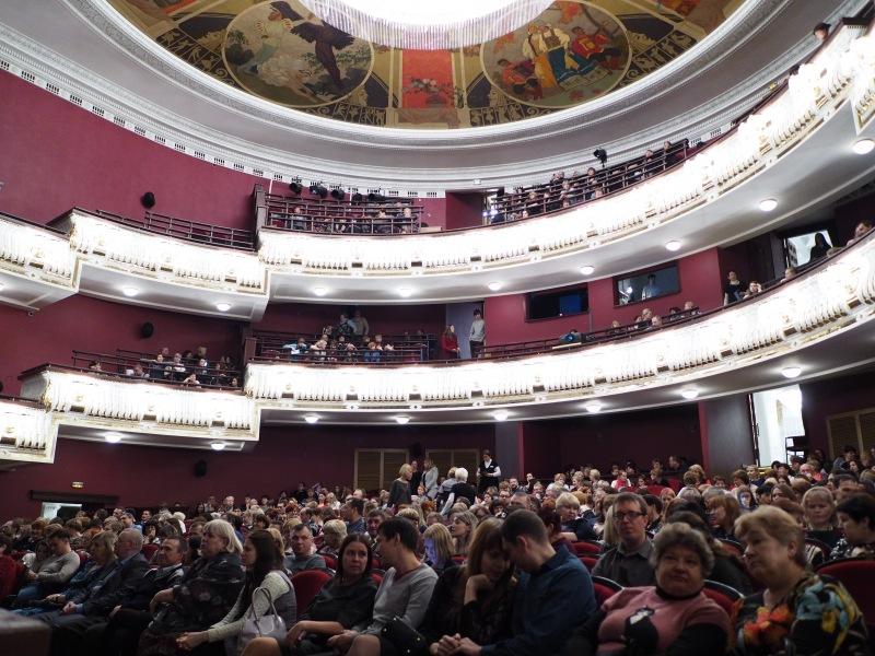 Драмтеатр кемерово фото зала